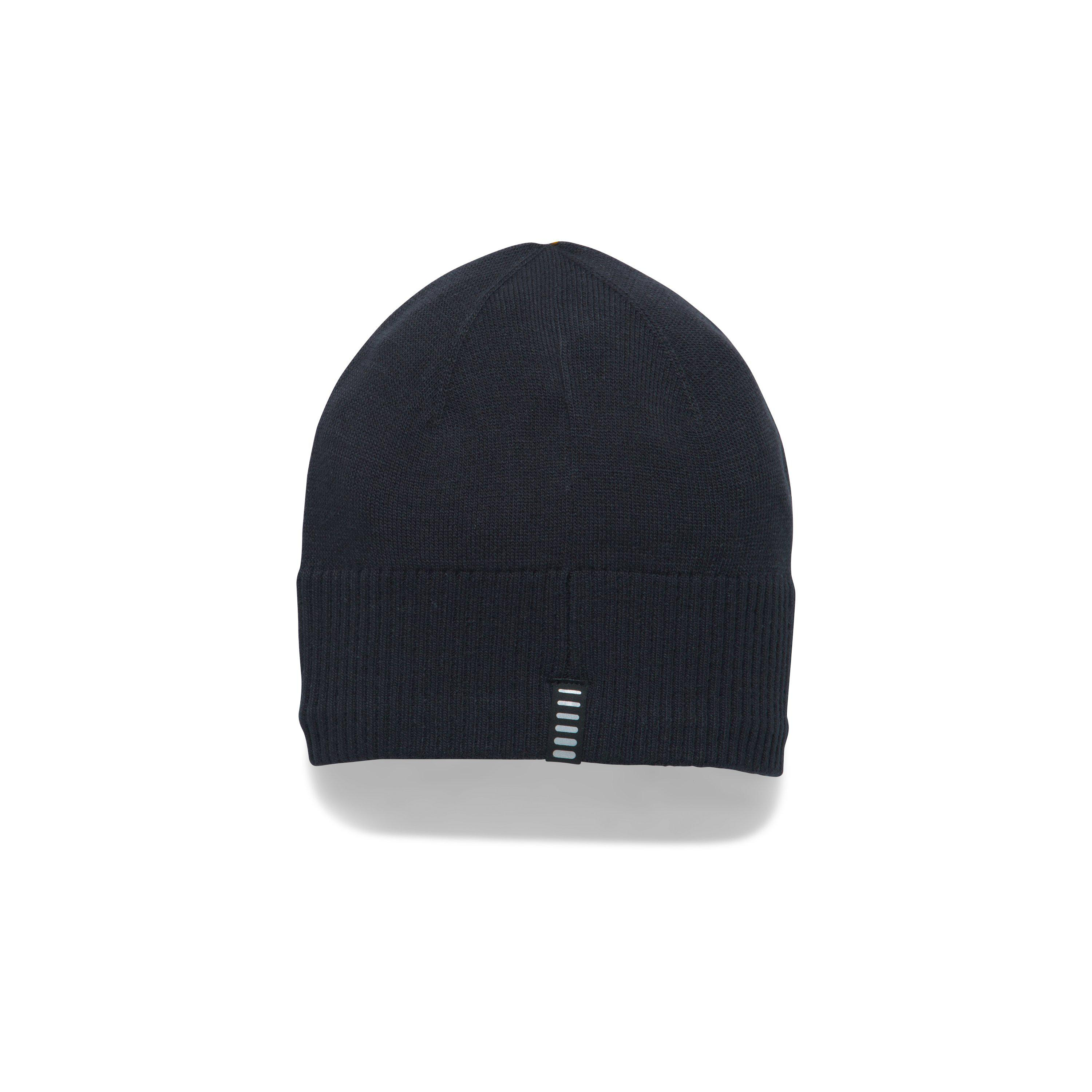 db89ef7f06f ... new zealand lyst under armour mens coldgear reactor knit beanie in black  for men 482b3 bd06b