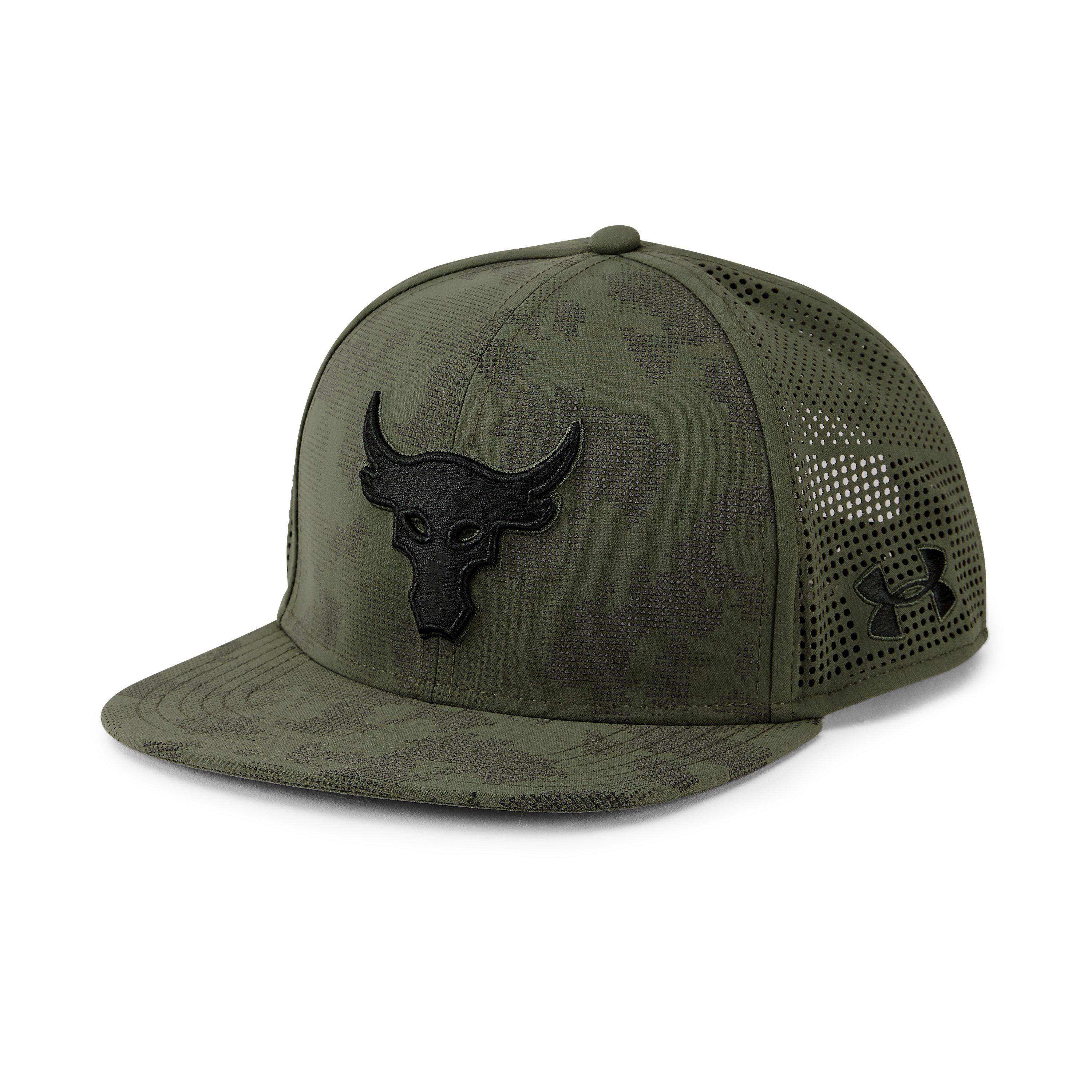 Lyst - Under Armour Ua X Project Rock Supervent Snapback Cap in ... b1c076abaca