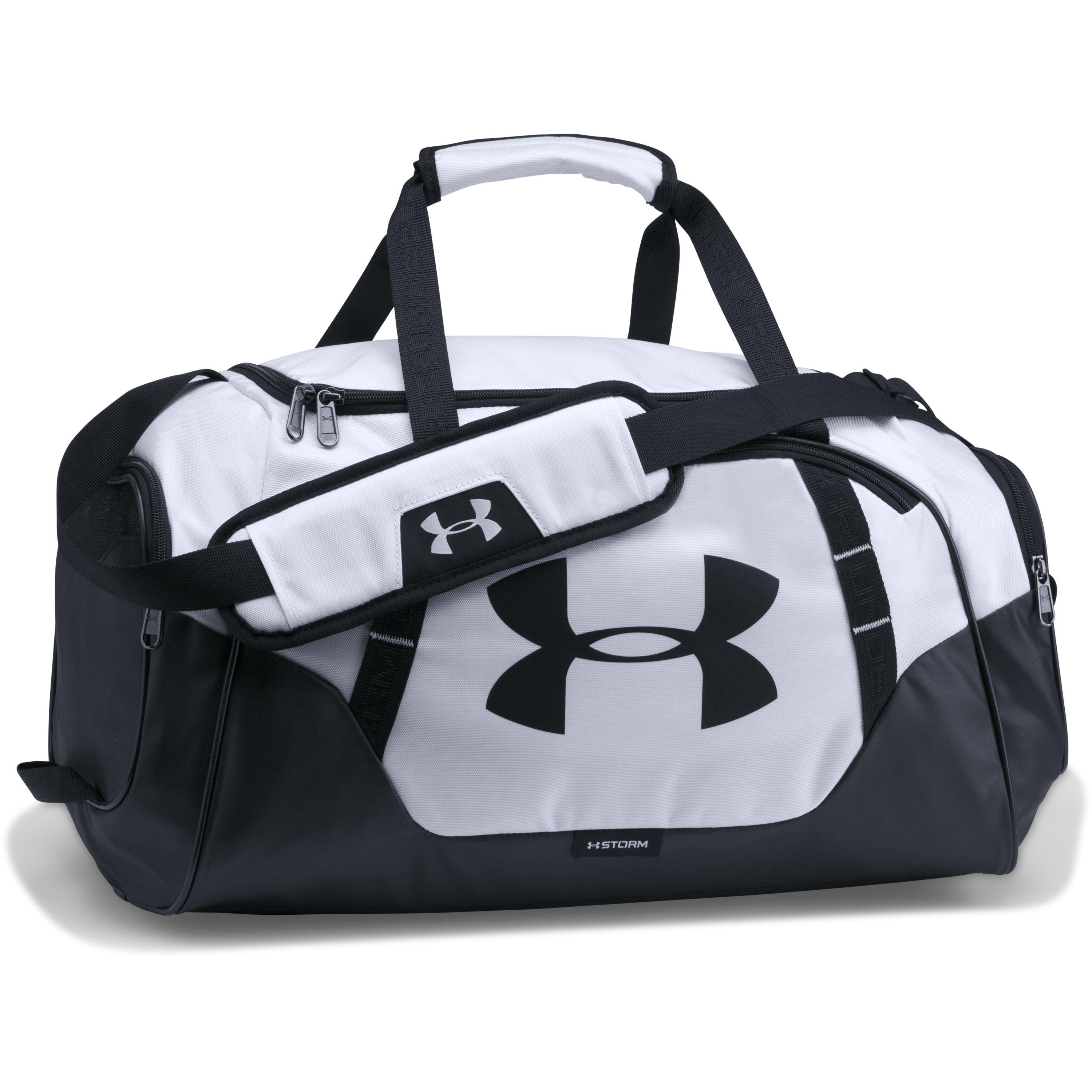 8c1734b4bc Under Armour - Black Men s Ua Undeniable 3.0 Small Duffle Bag for Men - Lyst
