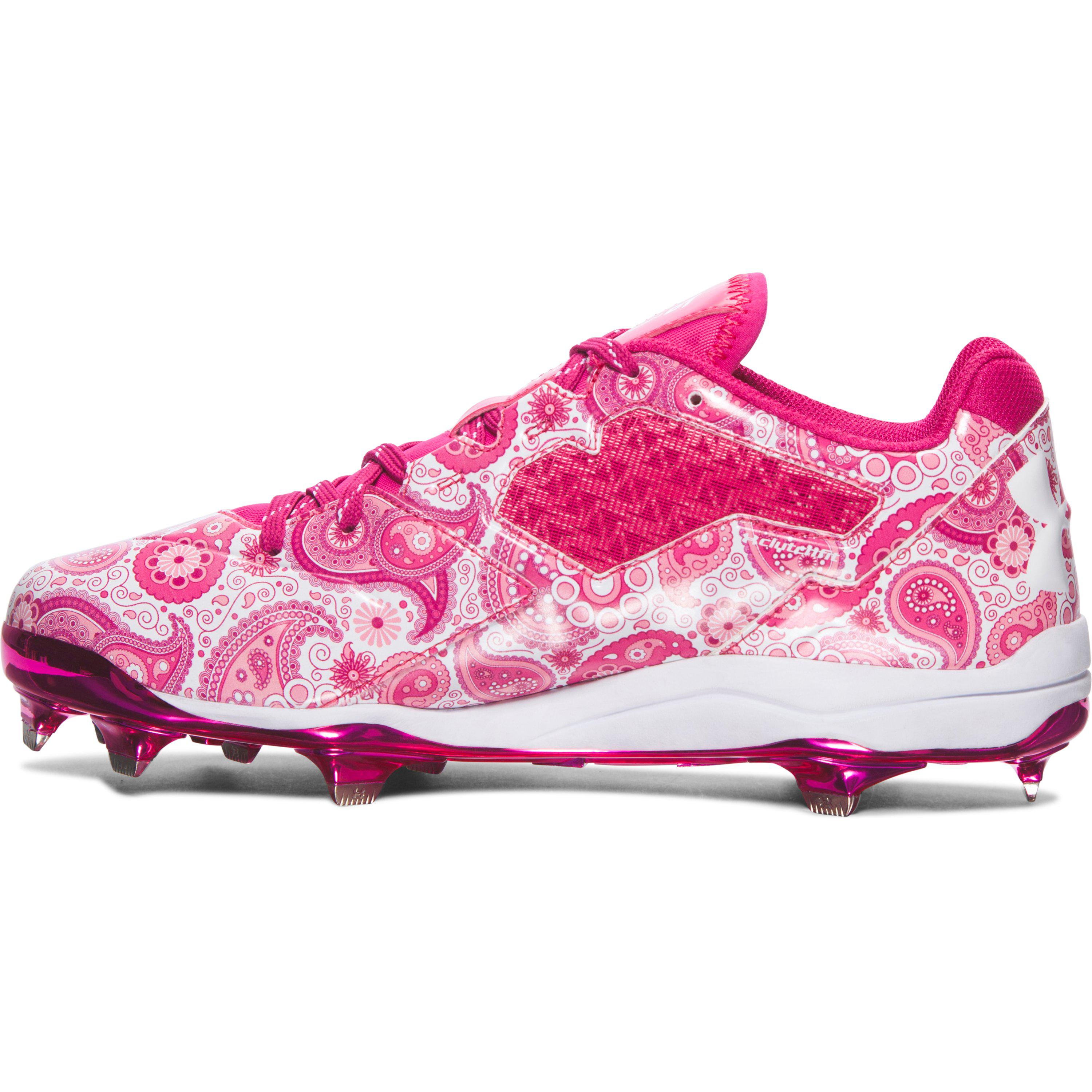 new concept ab7da 73355 Under Armour Pink Mens Ua Mothers Day Edition Diamondtips Baseball Cleats  for Men Lyst.