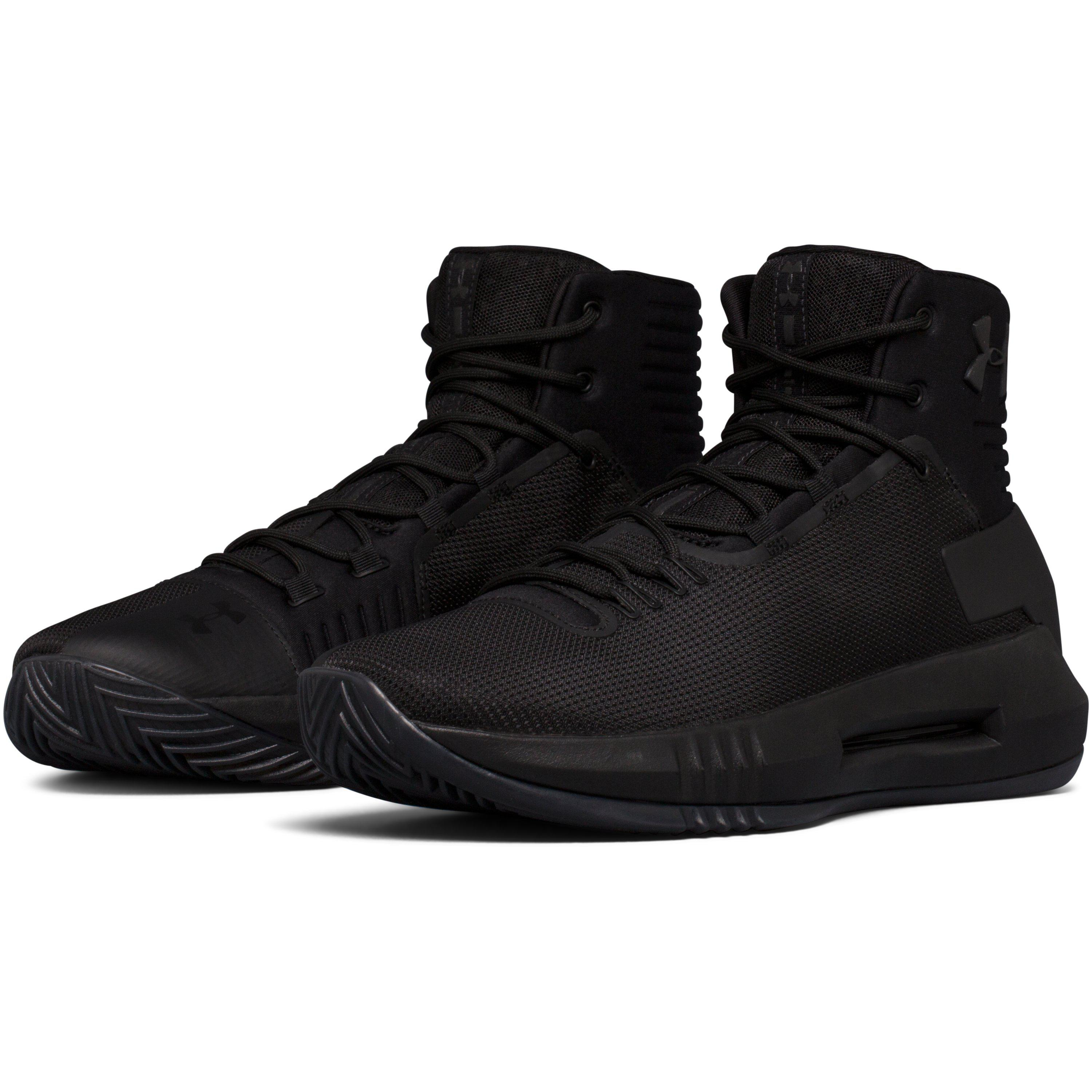 15eb9780d Under Armour Men's Ua Drive 4 Basketball Shoes in Black for Men - Lyst