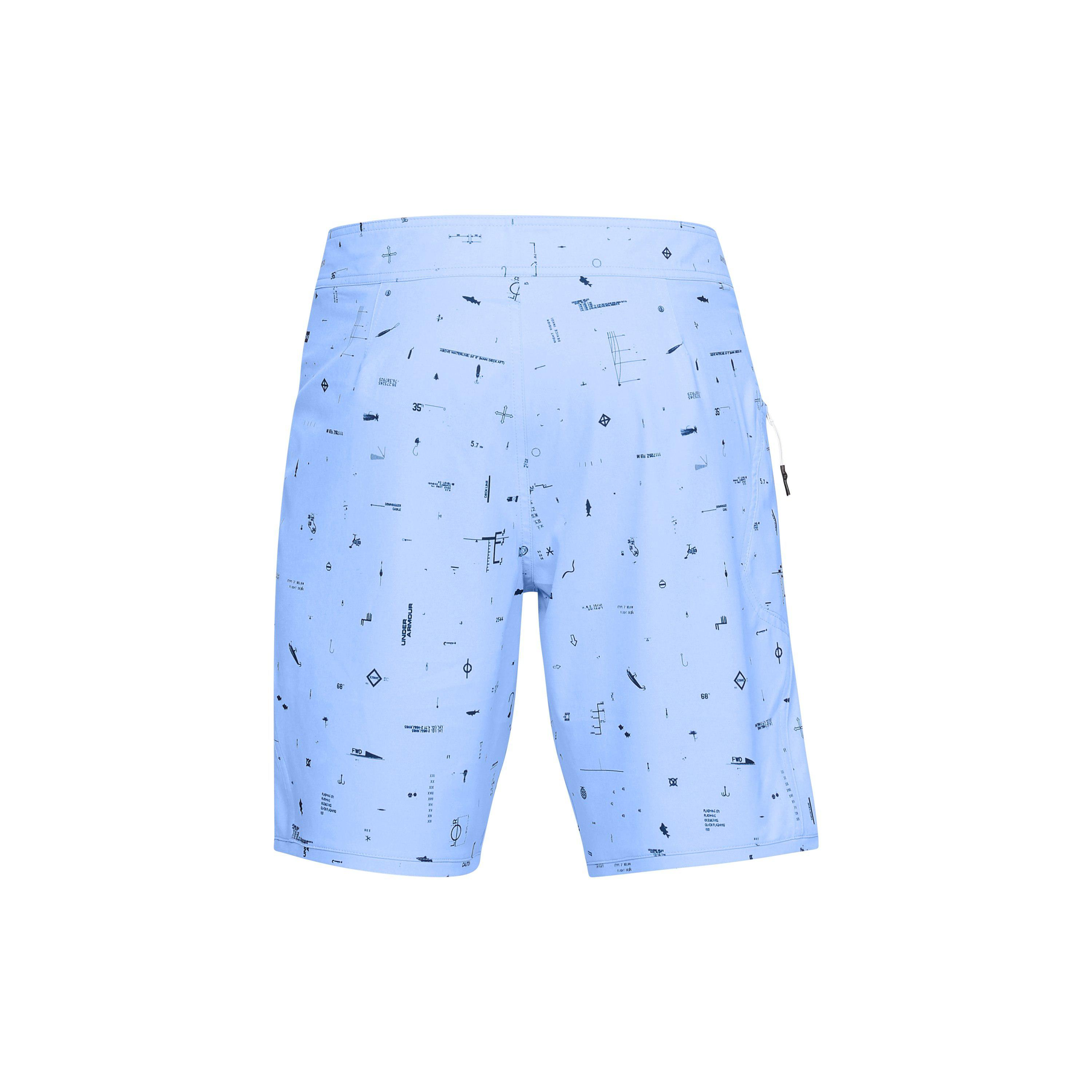 a15f56e7034c4 Lyst - Under Armour Men's Ua Tide Chaser Boardshorts in Blue for Men