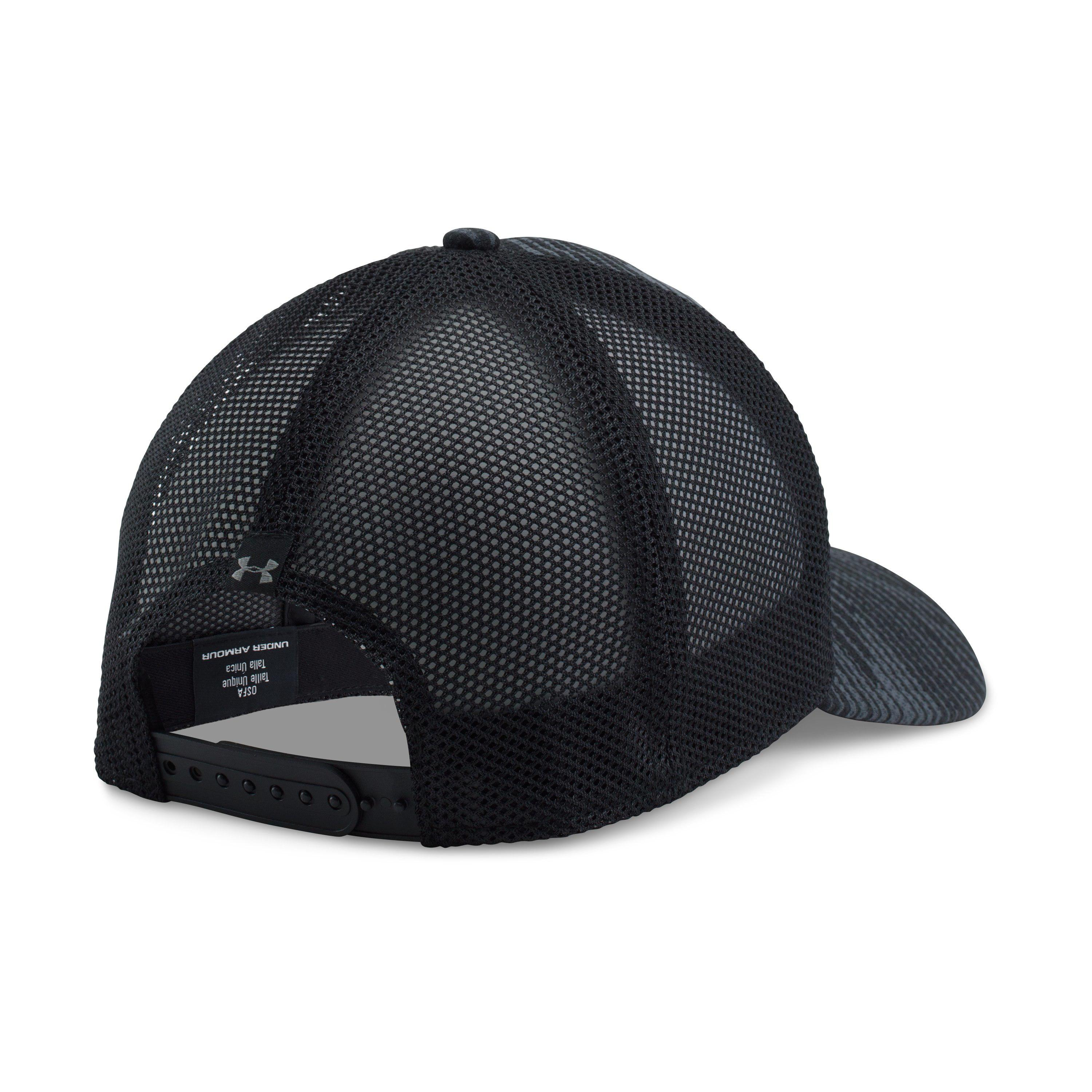 4763fe13f16a9 ... promo code for lyst under armour mens ua blitz trucker cap in black for  men ebe49