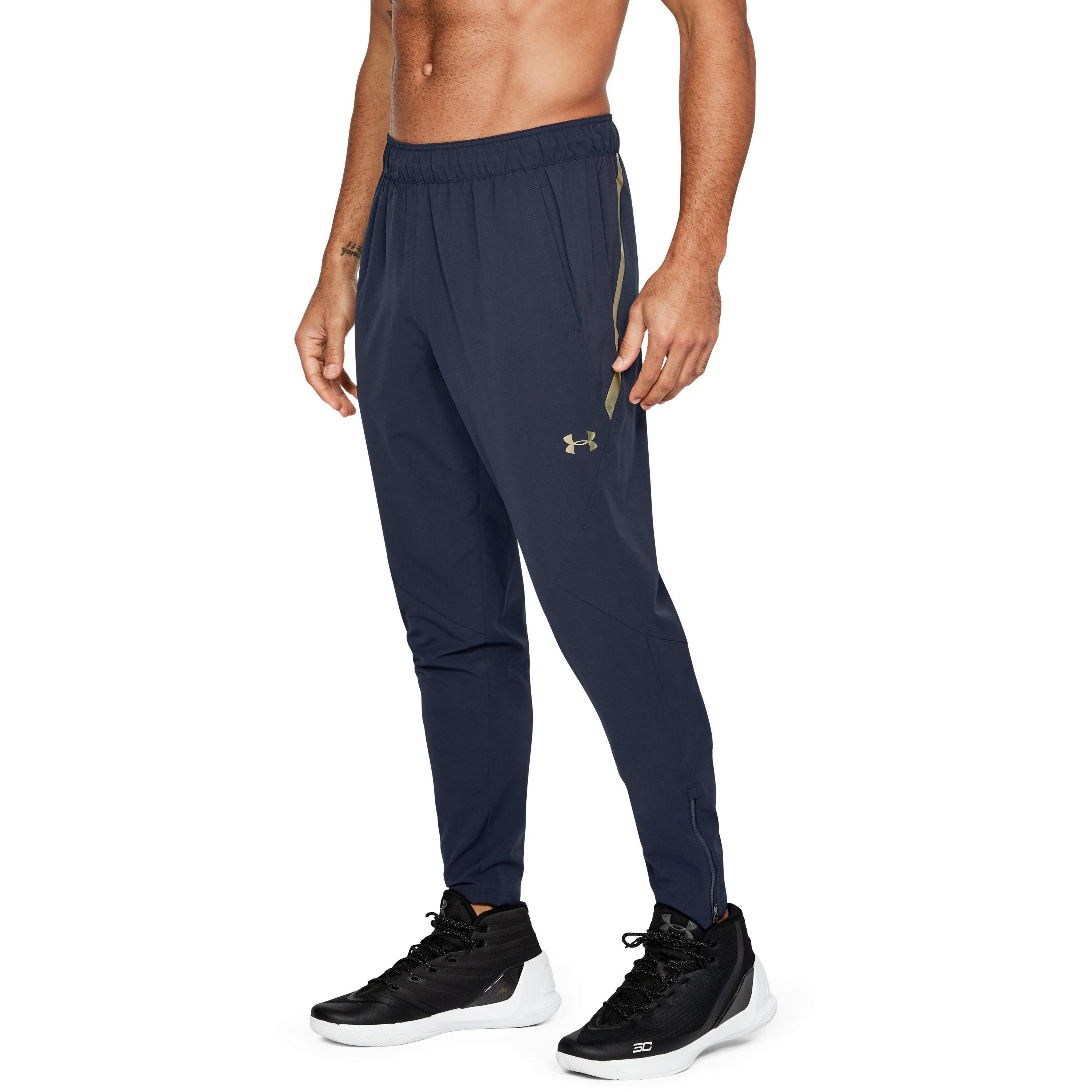 c2e51ba0 Lyst - Under Armour Men's Ua Select Warm-up Pants in Blue for Men
