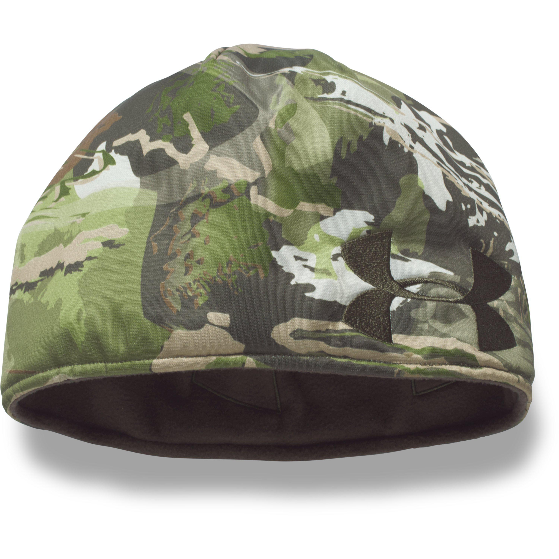 724cb6341ff2ea Lyst - Under Armour Men's Ua Reversible Camo Beanie in Green for Men