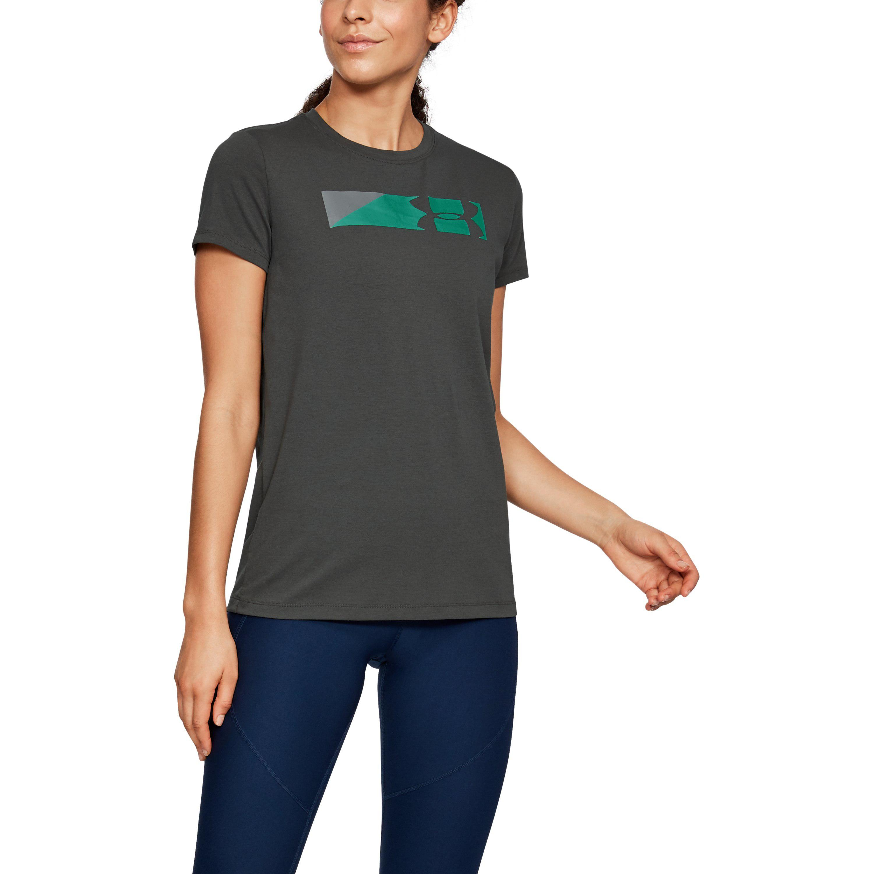 af449c8d0 Lyst - Under Armour Women's Ua Sportstyle Branded Graphic T-shirt in ...