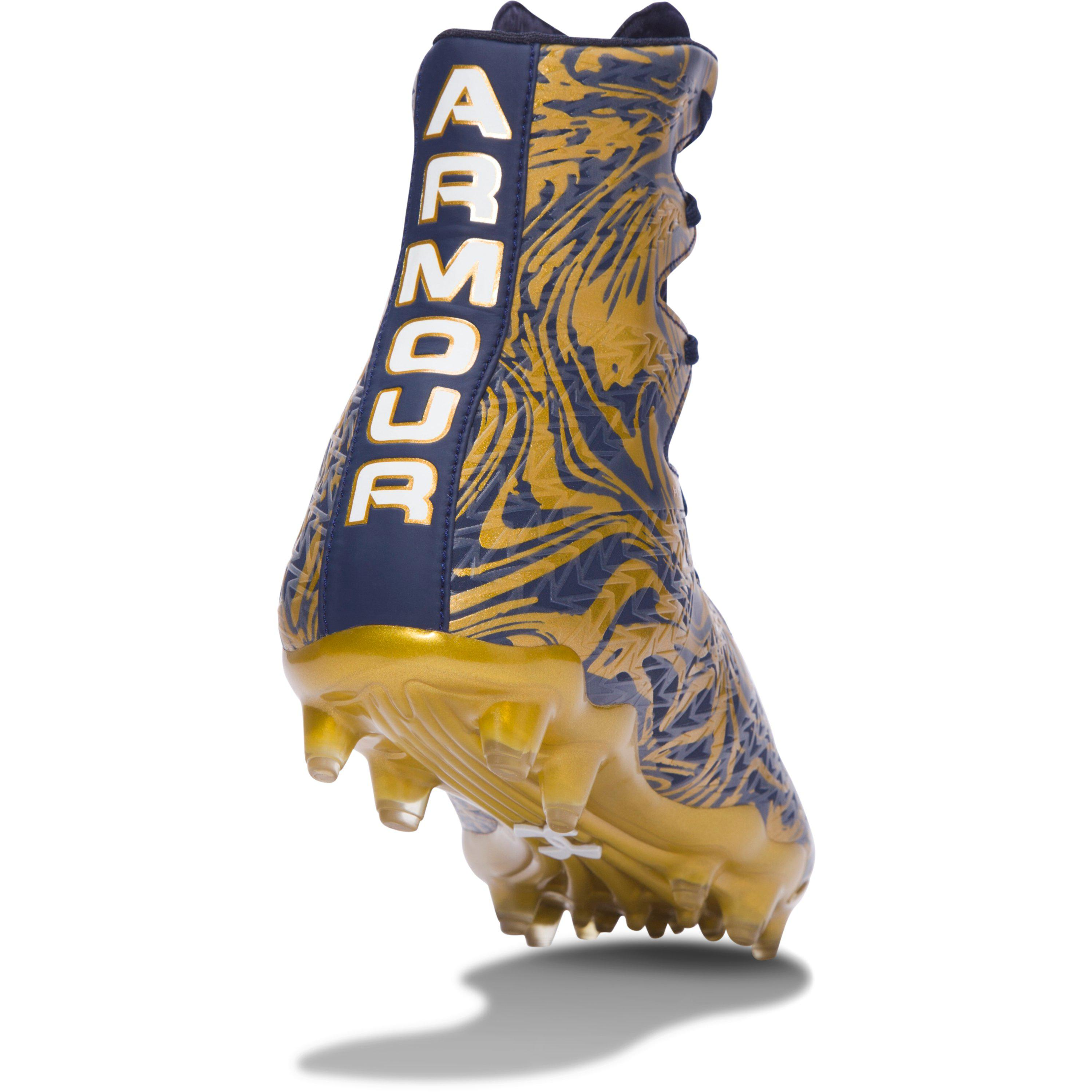 73d1827dc Under Armour Men s Ua Highlight Lux Mc Football Cleats in Blue for ...