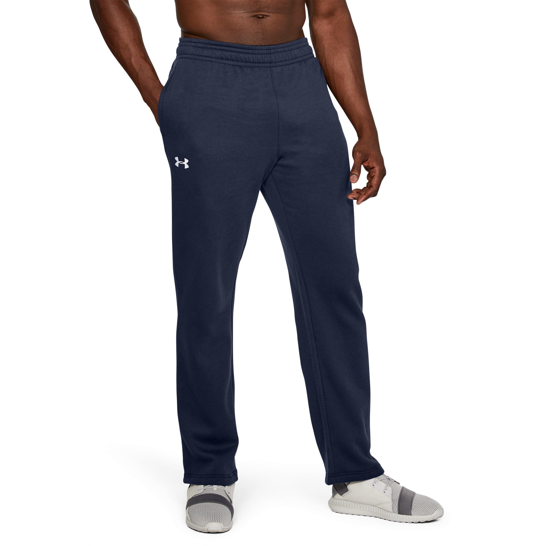 abd0a2d90 Under Armour Men's Ua Hustle Fleece Pants in Blue for Men - Lyst