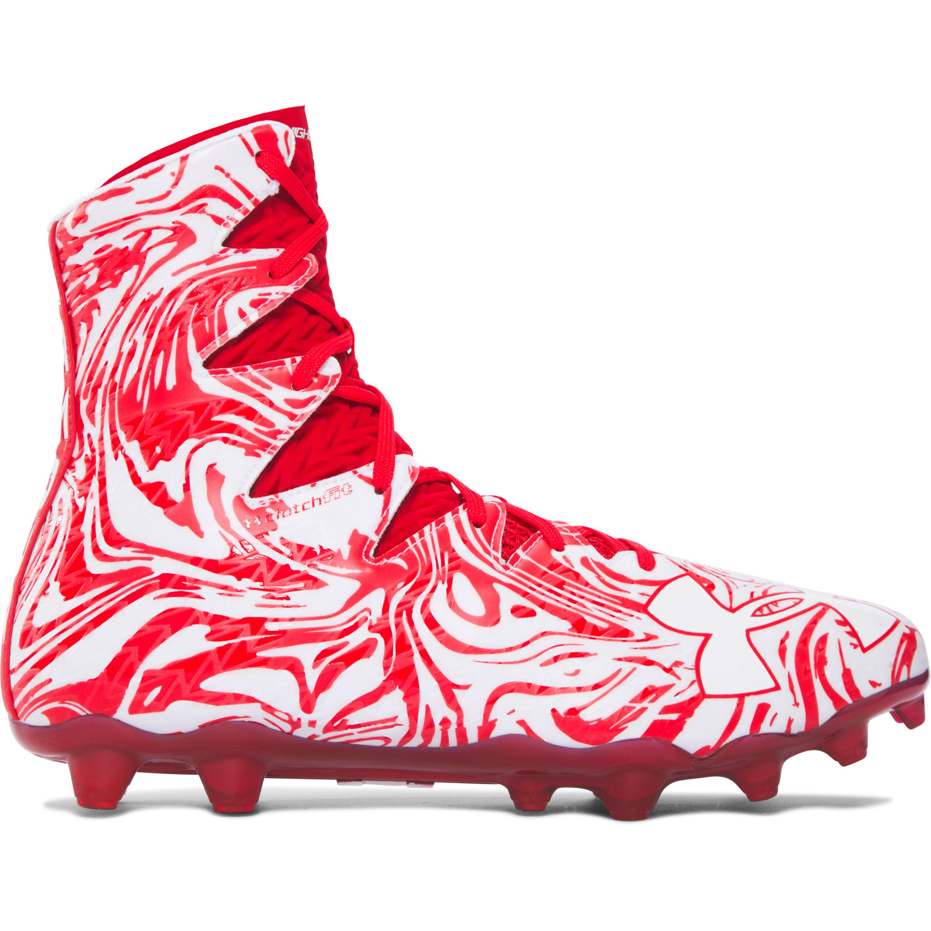 29f7cc8b3583 Under Armour Men's Ua Highlight Lux Mc Football Cleats in Red for ...