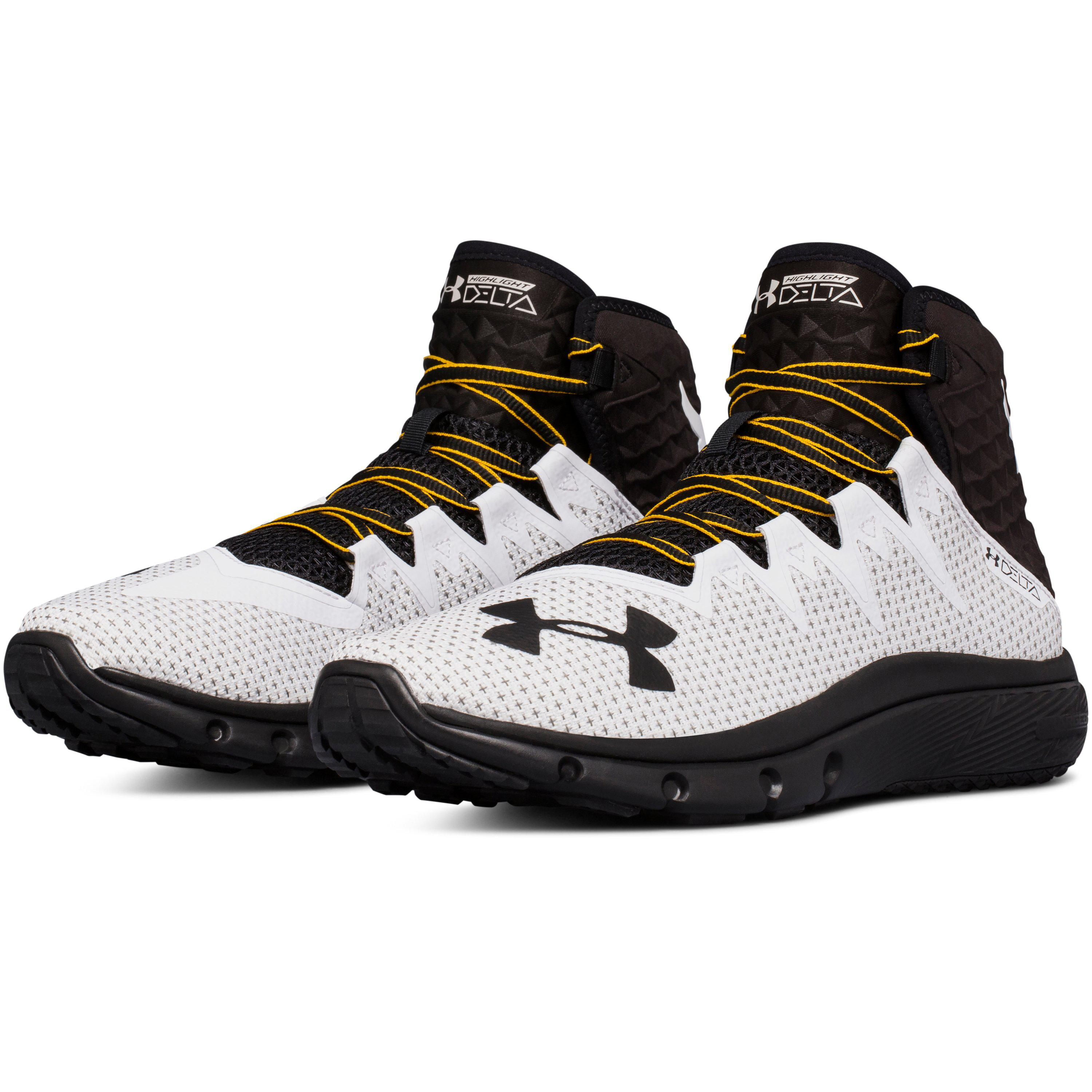 new products 60f41 913ef Under Armour Men s Ua X Project Rock Delta Training Shoes in Black ...