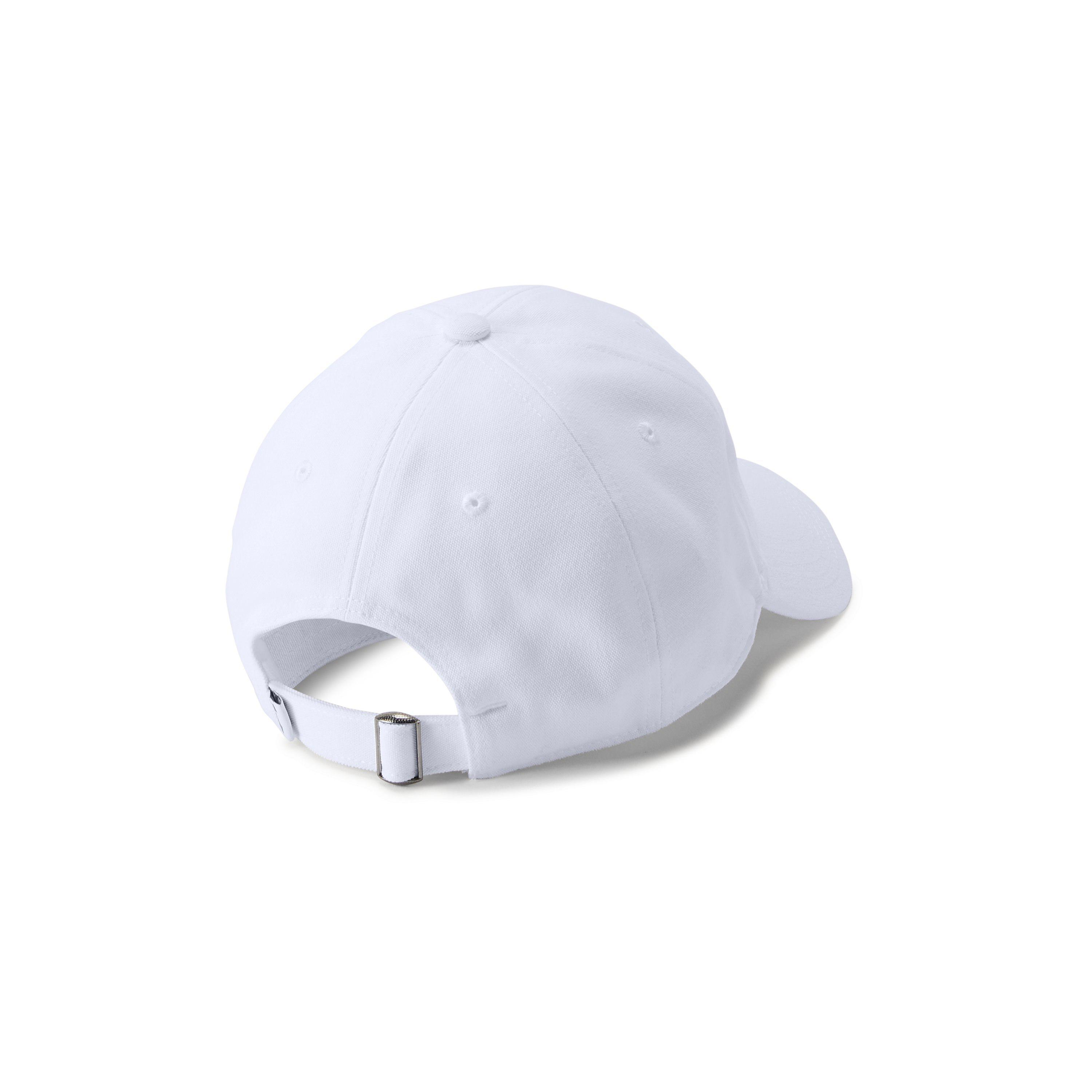 Lyst - Under Armour Men s Ua Core Canvas Cap in White for Men efaad08d0727
