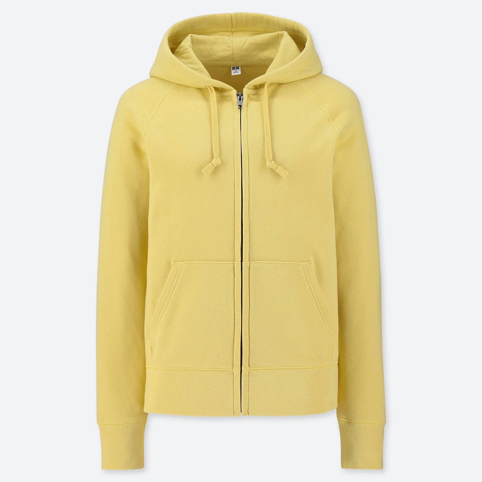 901085070d Lyst - Uniqlo Women Sweat Long-sleeve Full-zip Hooded Sweatshirt in ...