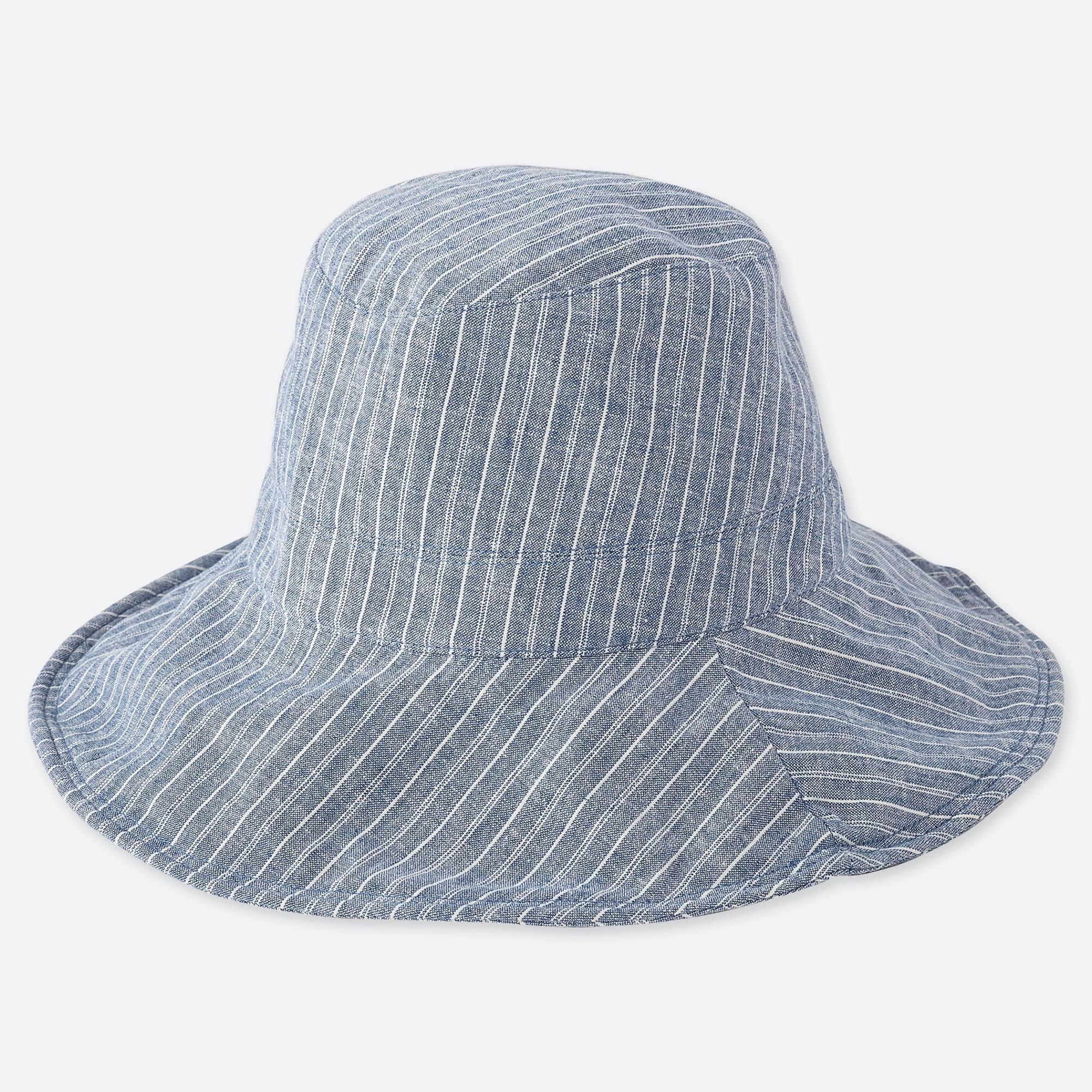 Lyst - Uniqlo Uv Cut Adjustable Hat in Blue d6da80db95b9
