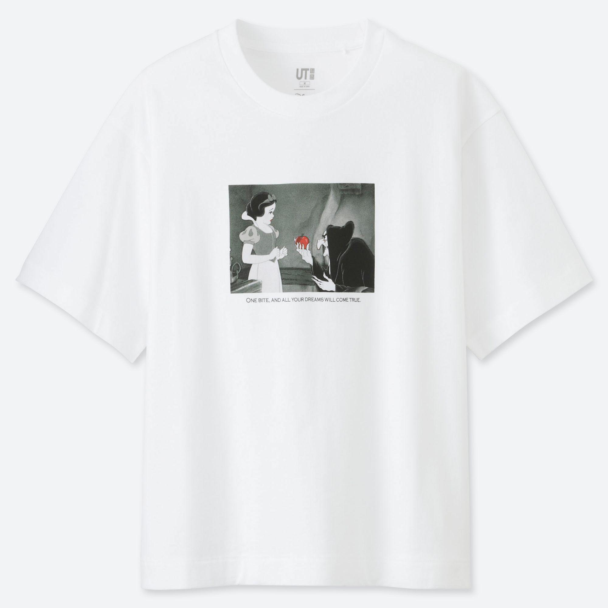 0e87f23d0 Uniqlo Women Princess Way Short-sleeve Graphic T-shirt in White - Lyst