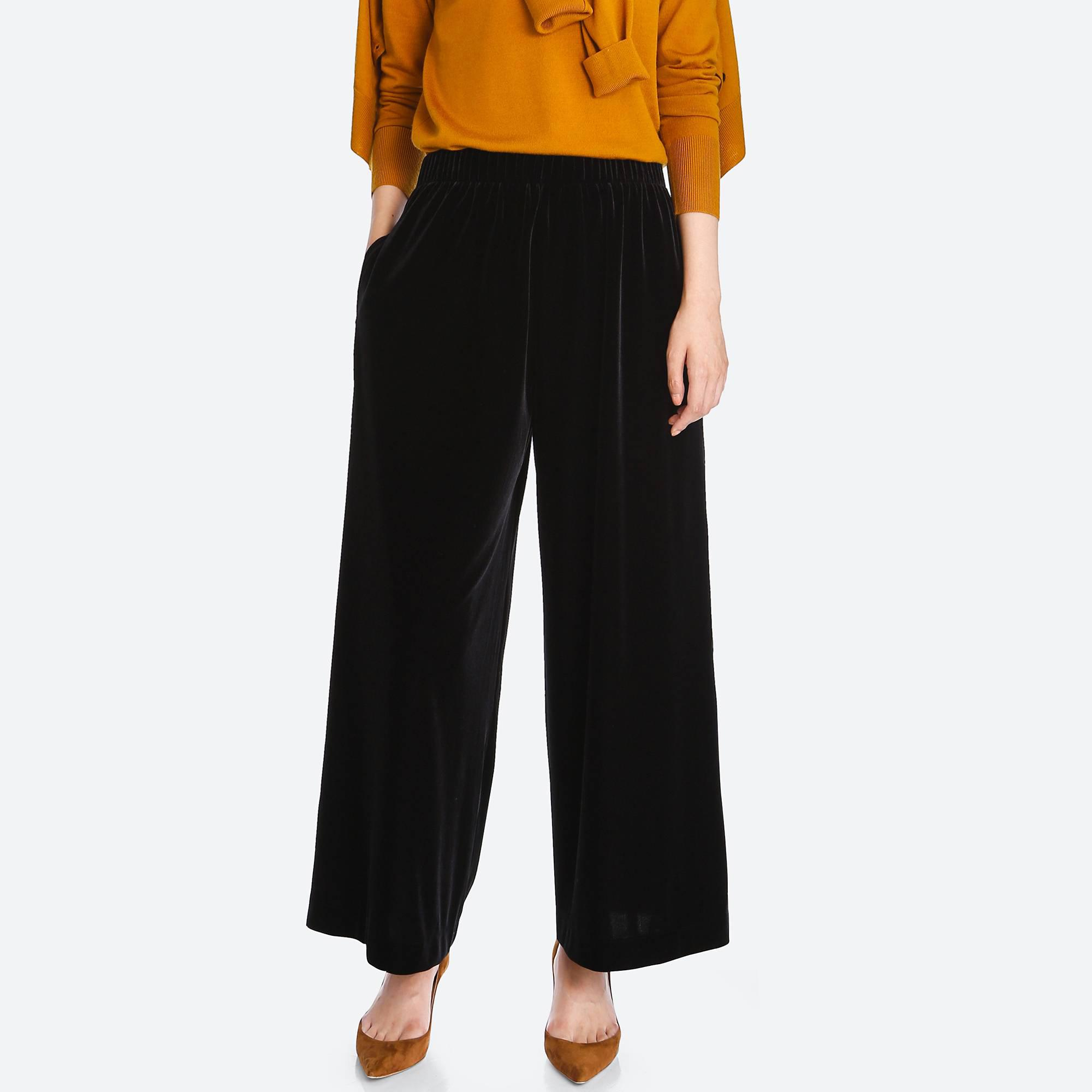 Wonderful Uniqlo Women Ponte Jogger Pants In Blue | Lyst