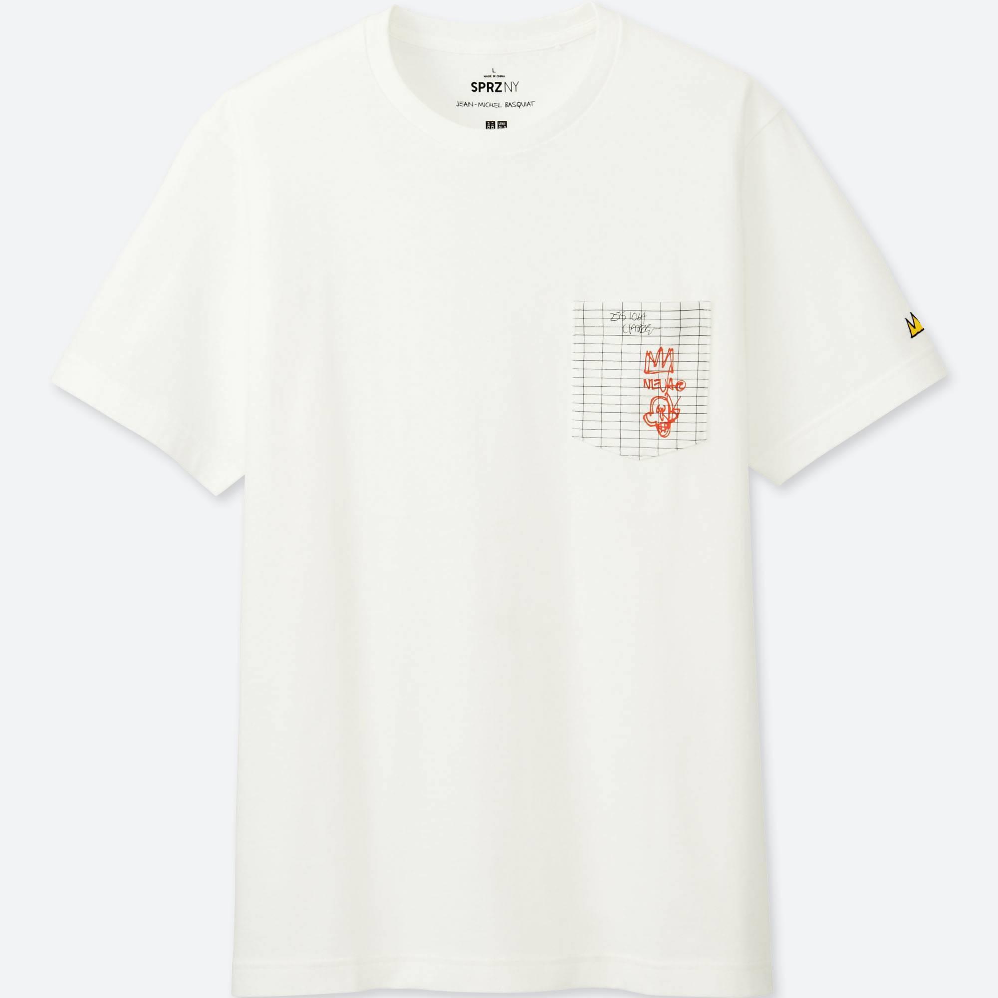 8784cf63d1 Lyst uniqlo men graphic shirt jean michel basquiat jpg 2000x2000 Basquiat  uniqlo