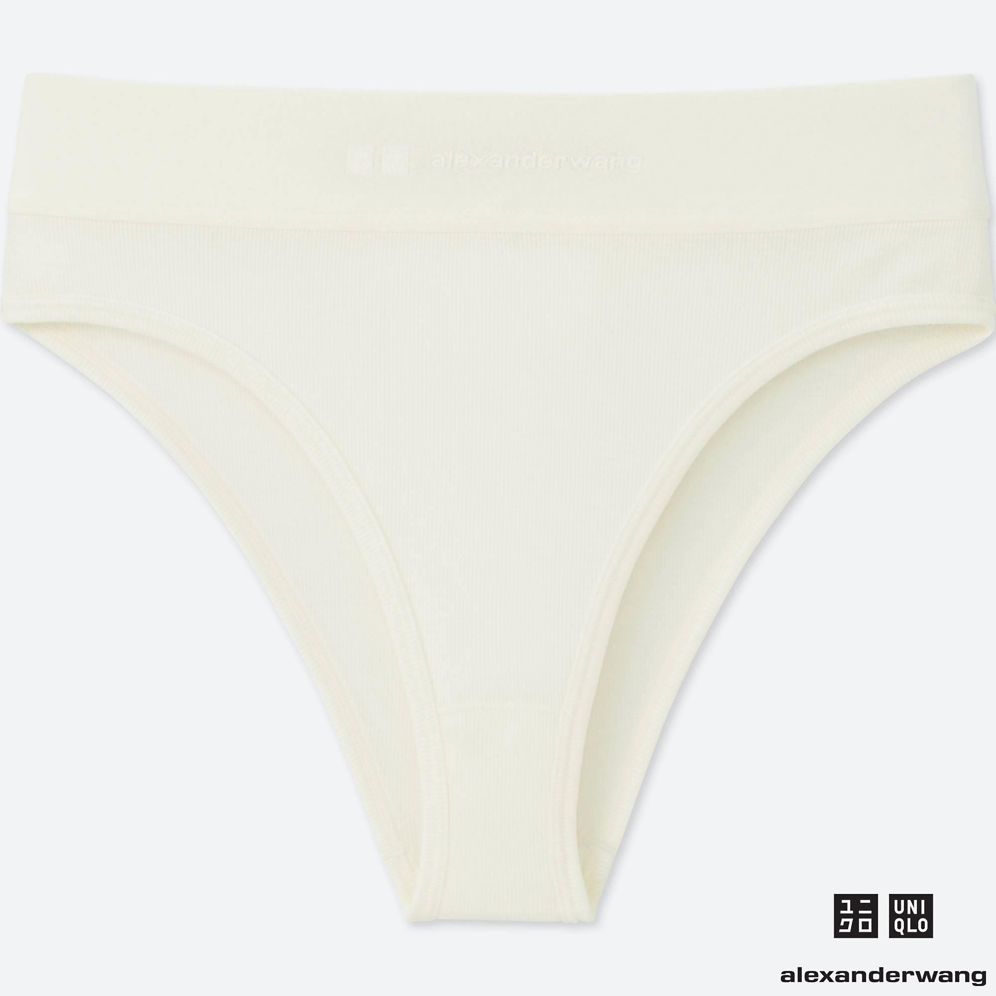 3fad1fba24 Lyst - Uniqlo Women Heattech Ribbed Bikini Shorts (alexander Wang)