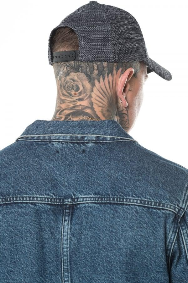 KTZ Los Angeles Dodgers Engineered Fit 9forty Cap in Gray for Men - Lyst 97cc3fbdc50c
