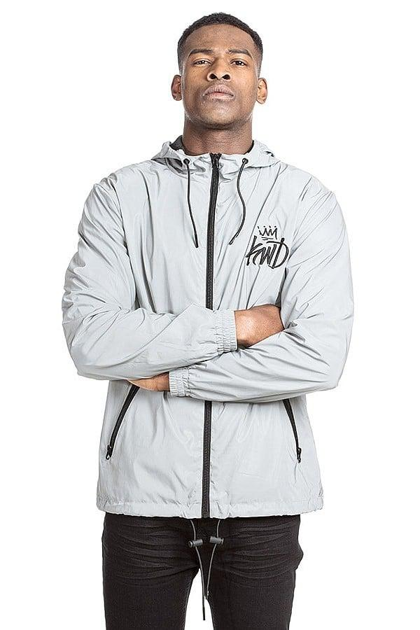 Kings Will Dream Specule Reflective Windrunner Jacket In