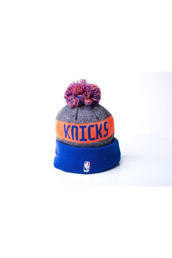 ... best lyst ktz new york knicks nba team bobble knit in blue for men  96181 d9017 cd3ebb9f09c0
