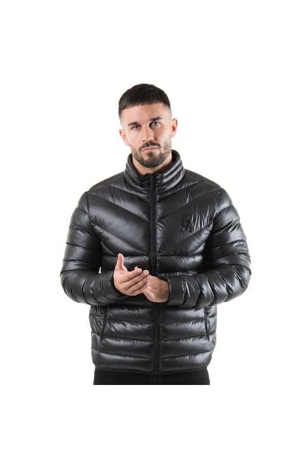b5ea27e8d5ddc Gym King Reign Quilt Jacket in Black for Men - Lyst