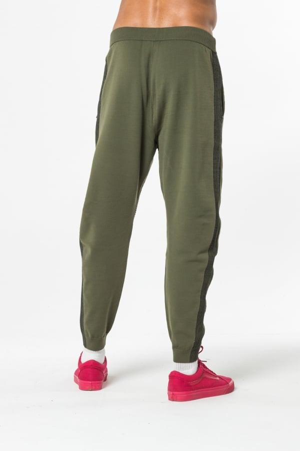 0b595b07dd36 PUMA - Green Evo Knit Pants for Men - Lyst. View fullscreen