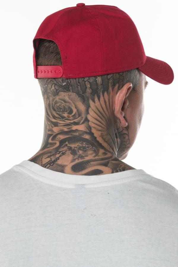 8bf31631 ... where to buy ktz boston red sox washed a frame 9forty cap for men lyst  bfb6f
