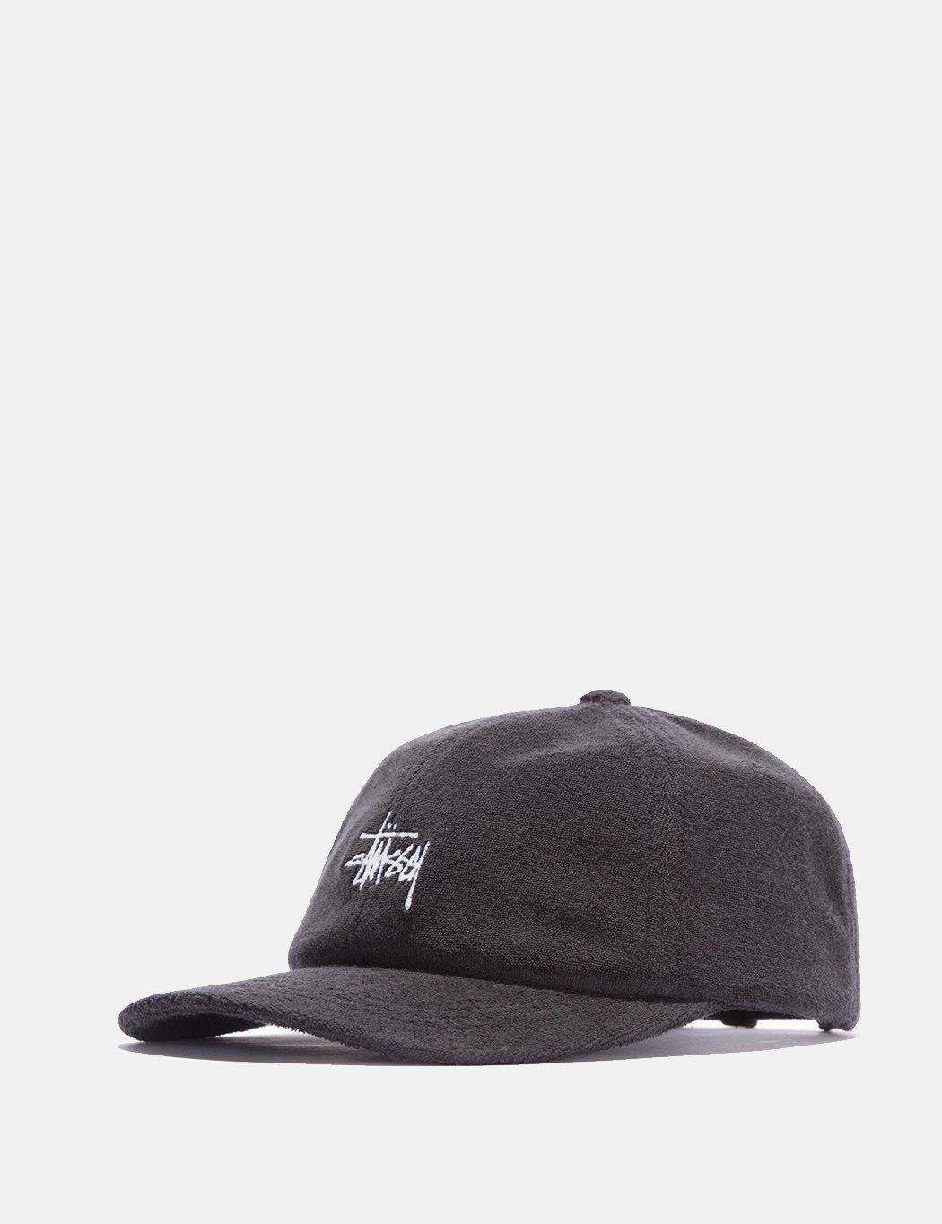 f80fea8be20 Lyst - Stussy Stock Terry Cloth Low Pro Cap in Black for Men