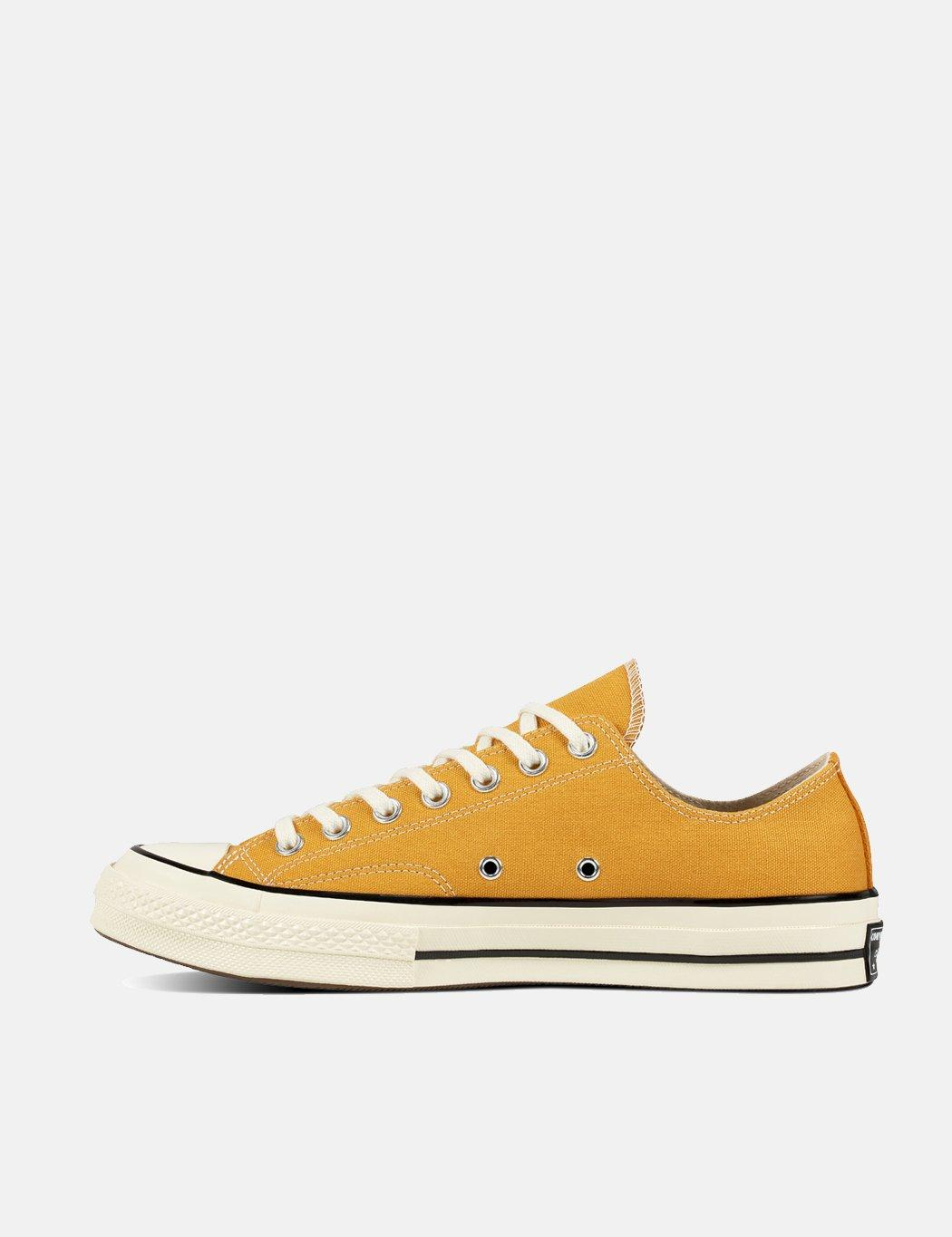 5df4e4c02922a3 Lyst - Converse 70 s Chuck Taylor Low Canvas (162063c) in Yellow for Men