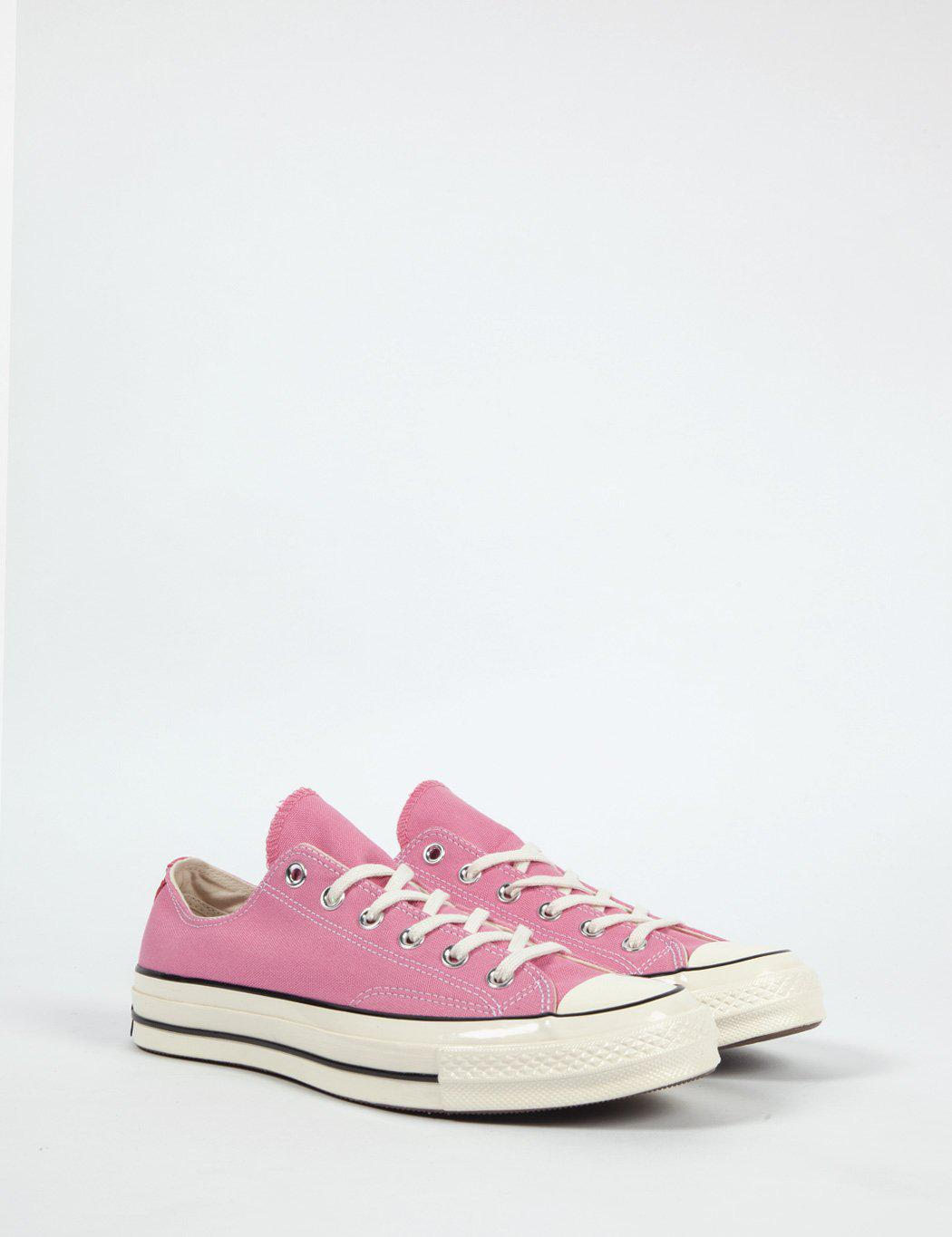 7cfa3677f848 ... where to buy lyst converse 70s chuck taylor low canvas in pink for men  a3afa 73d1e