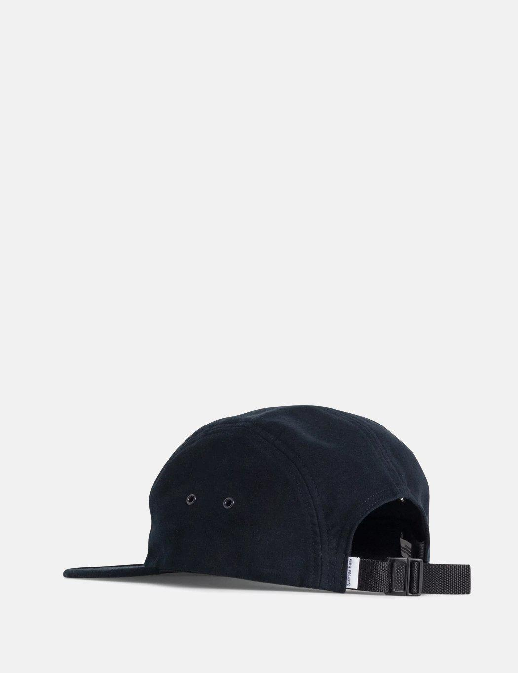 e0a6bbbd5bd Lyst - Norse Projects Moleskin 5 Panel Cap in Blue for Men