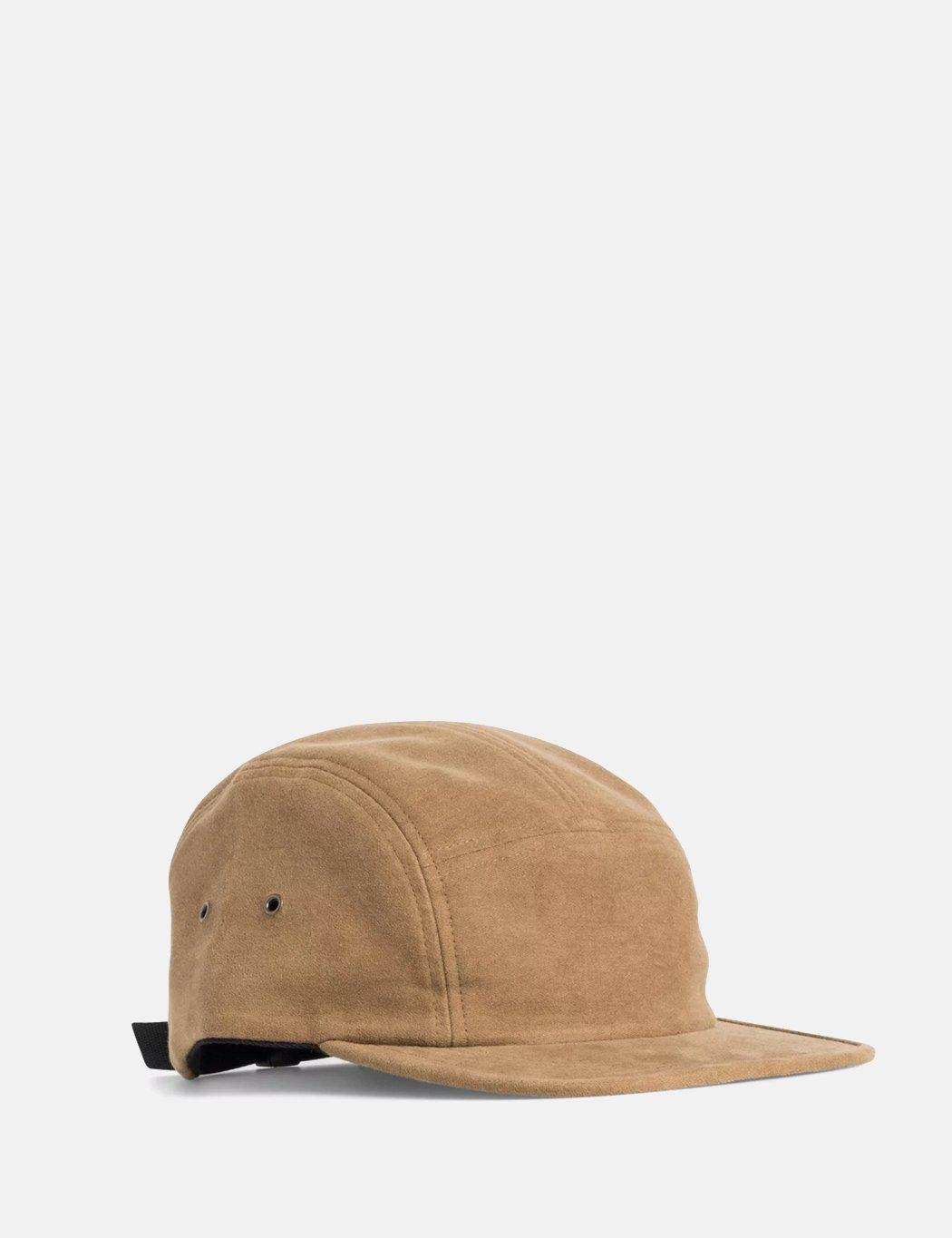 fae74b31181 Norse Projects Moleskin 5 Panel Cap in Brown for Men - Lyst