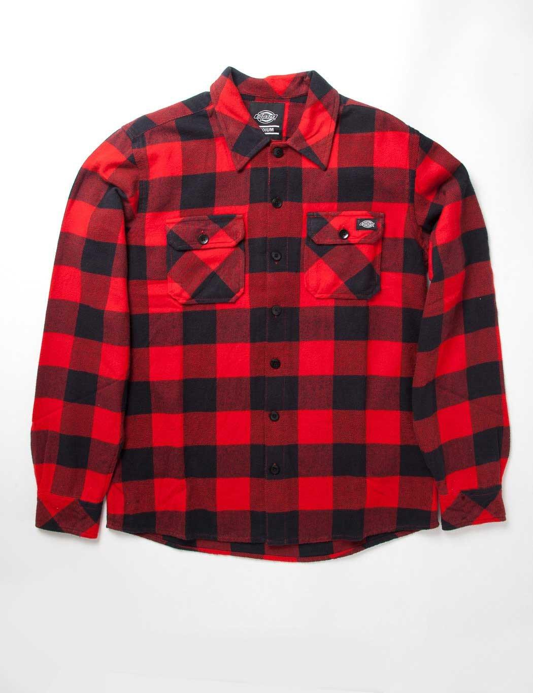 Dickies Sacramento Plaid Shirt In Red For Men Lyst