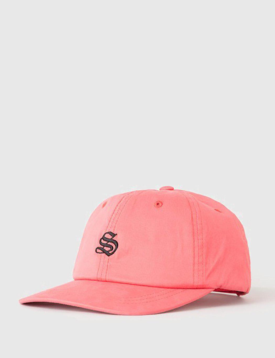 fa8876eb5c4 Stussy Bio Washed Low Cap in Red for Men - Lyst