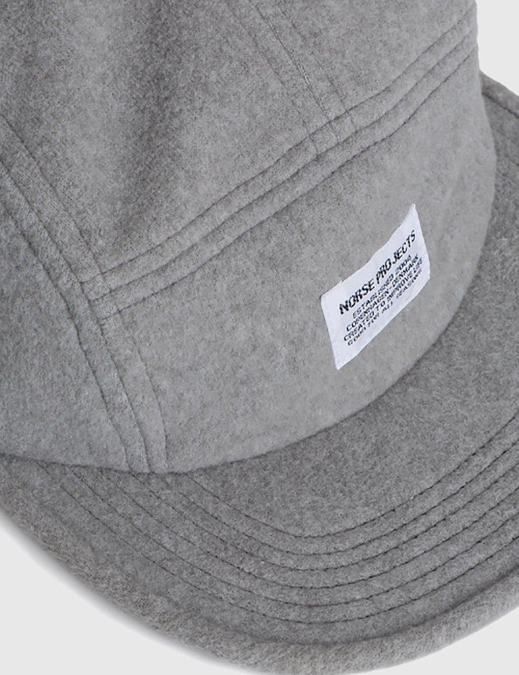 d399b47d496 Norse Projects Polartec 5 Panel Cap in Gray for Men - Lyst