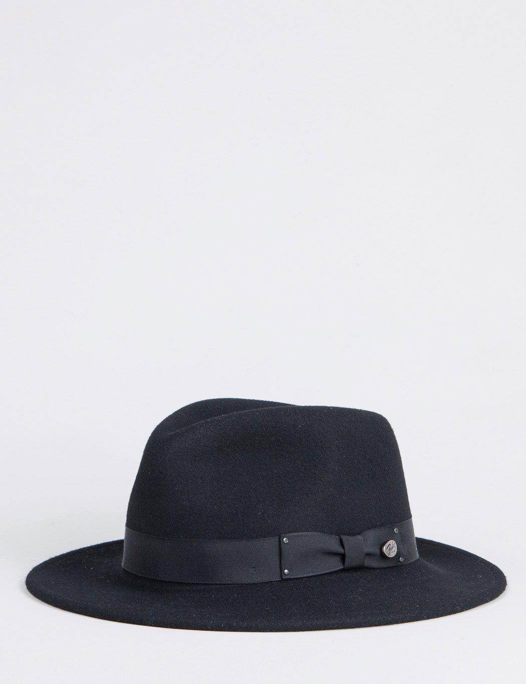 3a3639f5ae01da Bailey of Hollywood Bailey Curtis Widebrim Fedora Hat in Black for ...