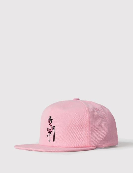 f66e1160ad1 Stussy Flamingo Cap in Pink for Men - Lyst
