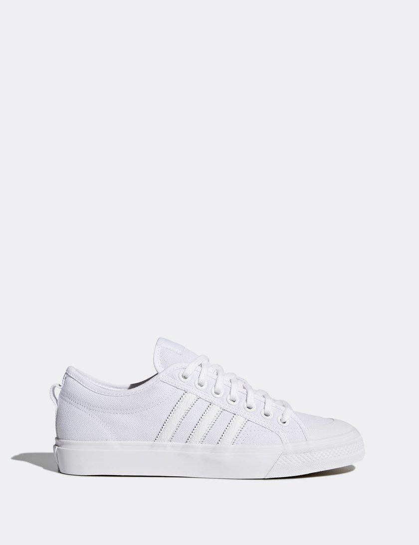 timeless design 83779 0c4a5 adidas Originals. Men s White Adidas Nizza Canvas ...