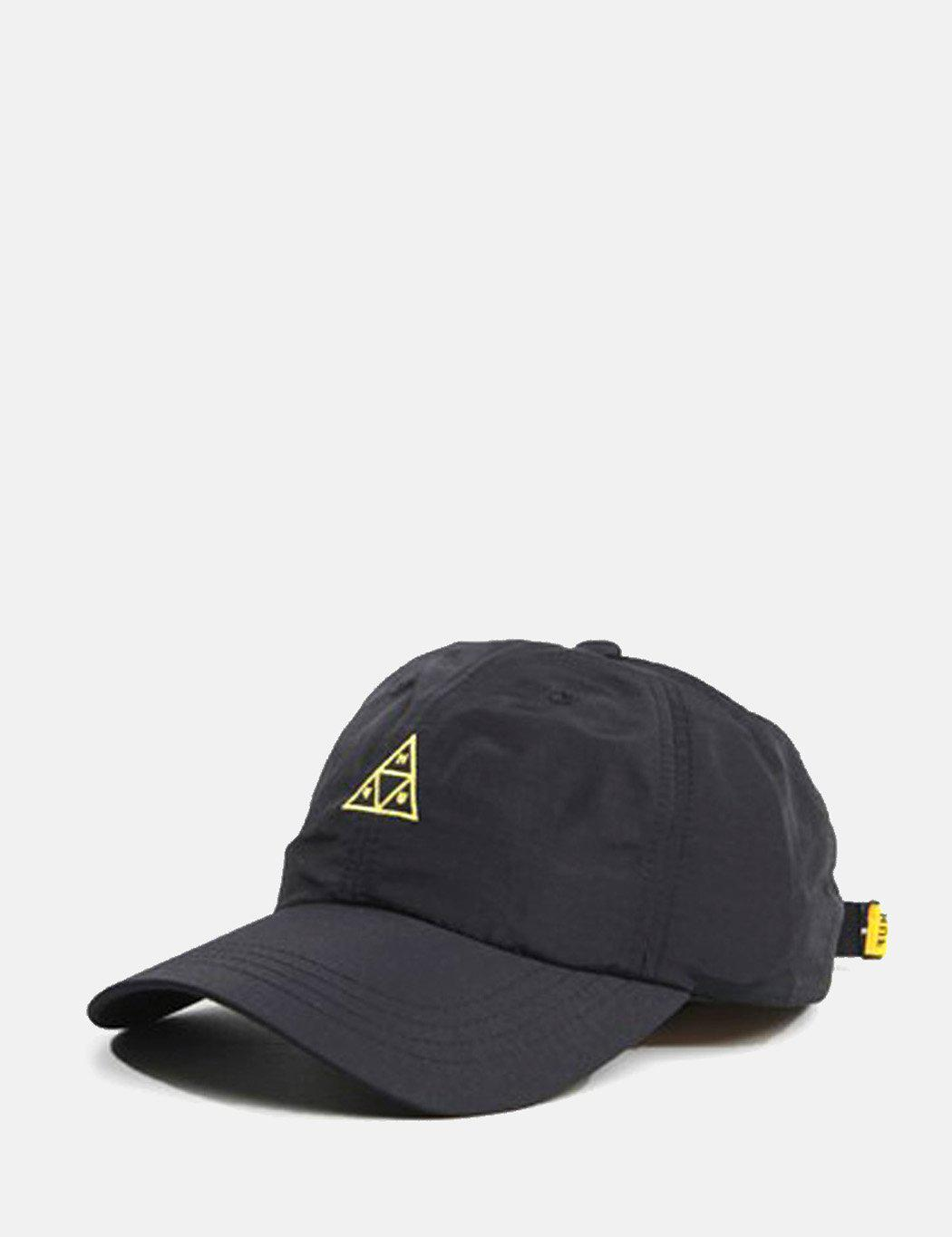 4320912600208 ... canada lyst huf triple triangle curved visor 6 panel cap in black for  men bd18e 40d5a