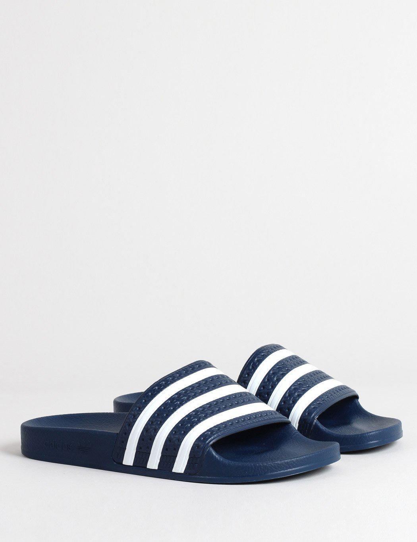 buy popular 17054 89bfb Lyst - adidas Originals Adilette Slides in Blue for Men - Sa