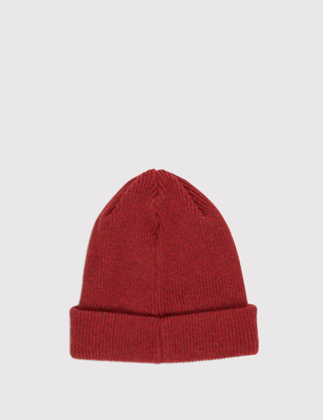 4739254f0a6 Lyst - Norse Projects Norse Beanie Hat in Red