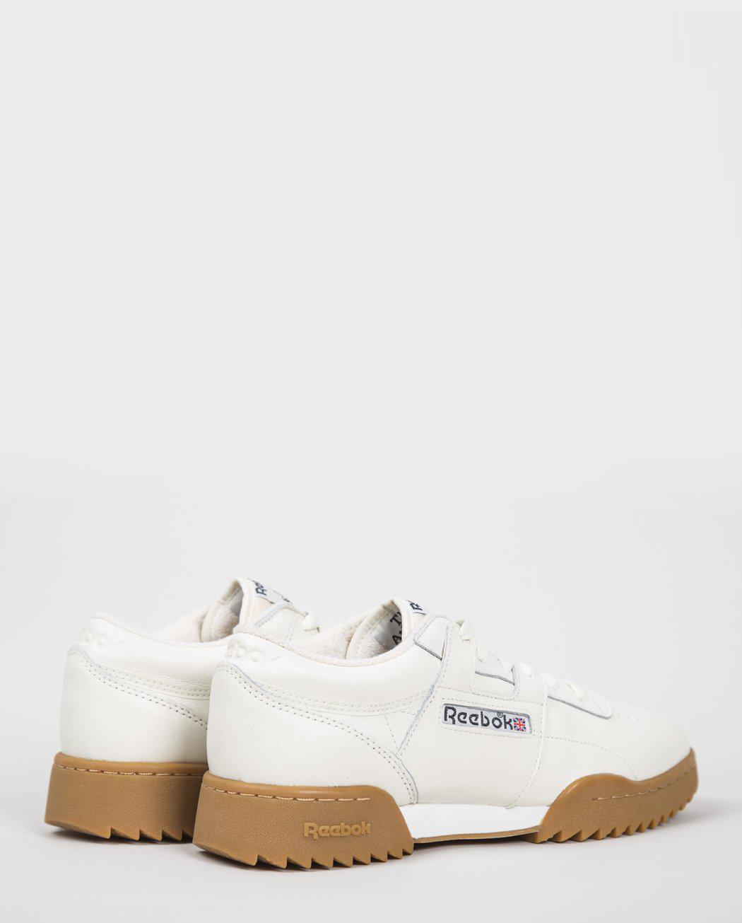 0692a262bd2 Lyst - Reebok Workout Clean Ripple (bs8929) in White for Men