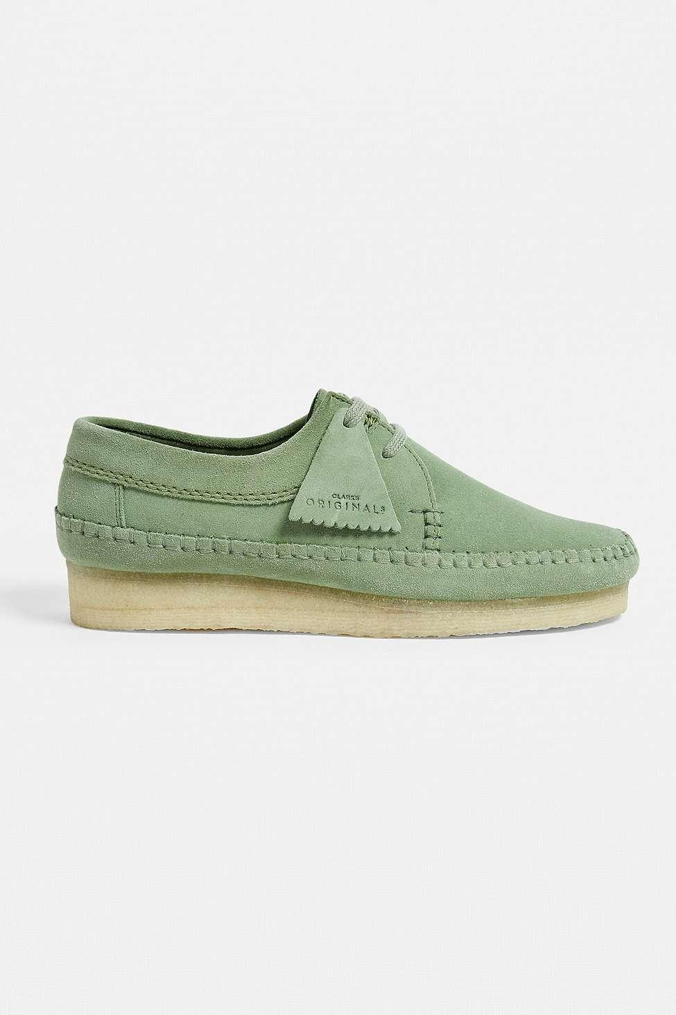 b6b9efe16551 Clarks Weaver Cactus Green Suede Shoes - Mens Uk 10 in Green for Men ...