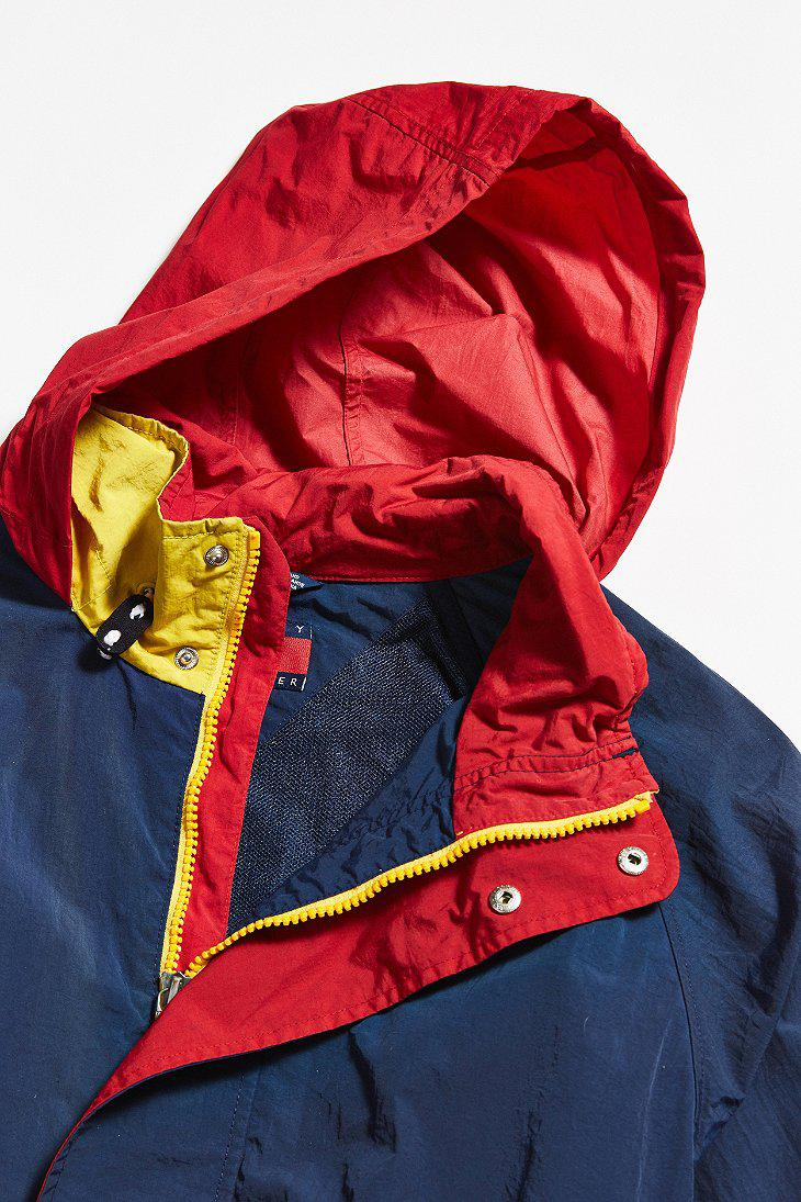 Lyst Urban Outfitters Vintage Tommy Hilfiger Navy Sailing Jacket