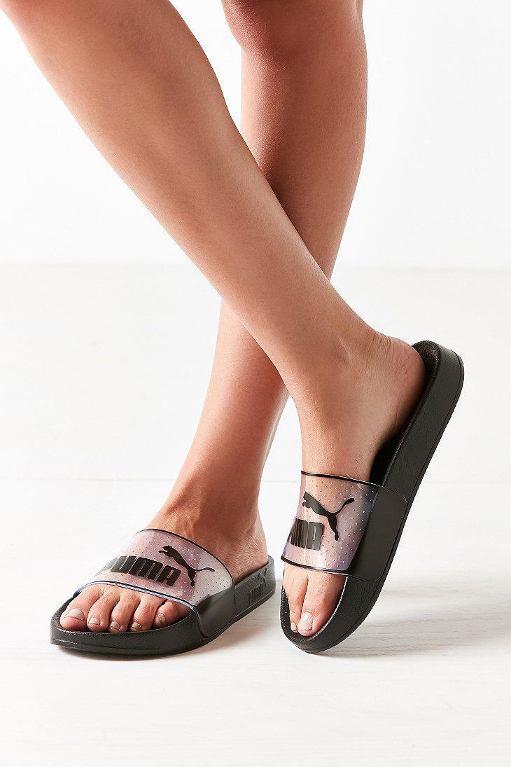 7dac53601feb ... Puma Leadcat Jelly slide  Gallery. Previously sold at Urban Outfitters  · Women s Pool Slides ...