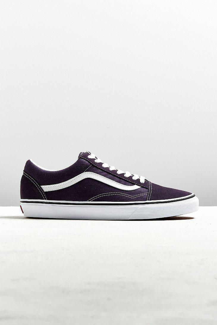 Vans. Men's Blue Vans Old Skool Nightshade Sneaker