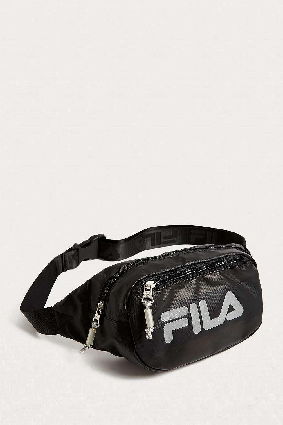 Fila Reflective Black Cross Body Bag in Black for Men - Lyst 50688a9d2e8bd