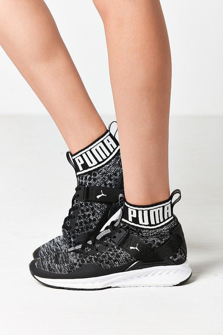 7f0b8b6cbe4e Lyst - PUMA Ignite Evoknit Training Sneaker in Black