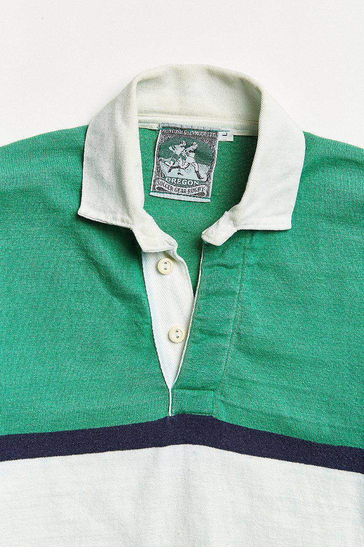 152839cea59 Urban Outfitters Vintage Mcintosh & Seymour Stripe Rugby Shirt in ...