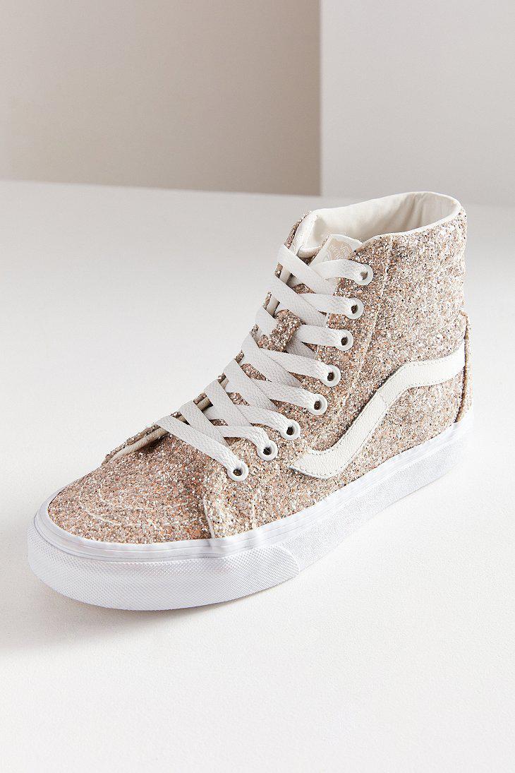 Lyst - Vans Vans Chunky Glitter Sk8-hi Reissue Sneaker 3f084a52f